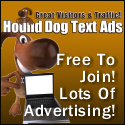 Hound Dog Text Ads